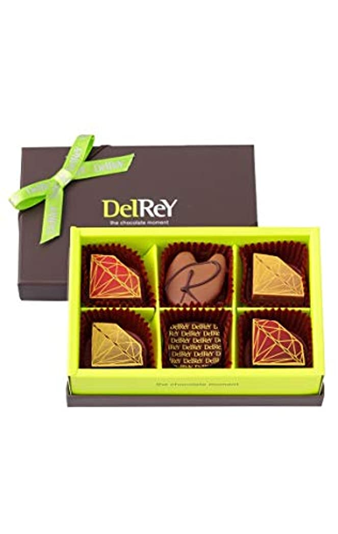 優雅な戻す借りるデルレイ Delrey チョコレート デルレイセレクション バレンタイン (6個入り)