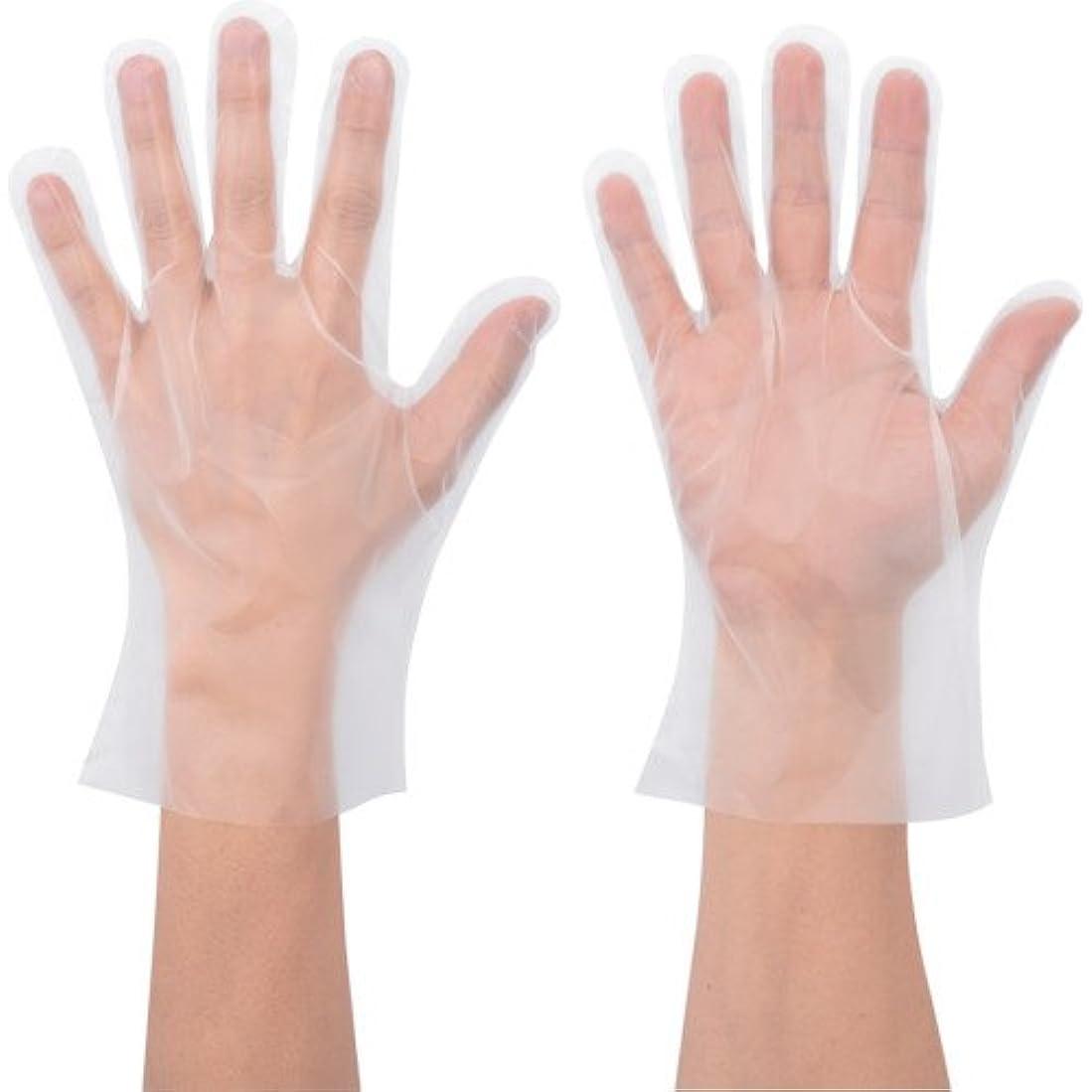洞窟意志に反するスコアショーワ No.826 ポリエチ手袋 Mサイズ 100枚入