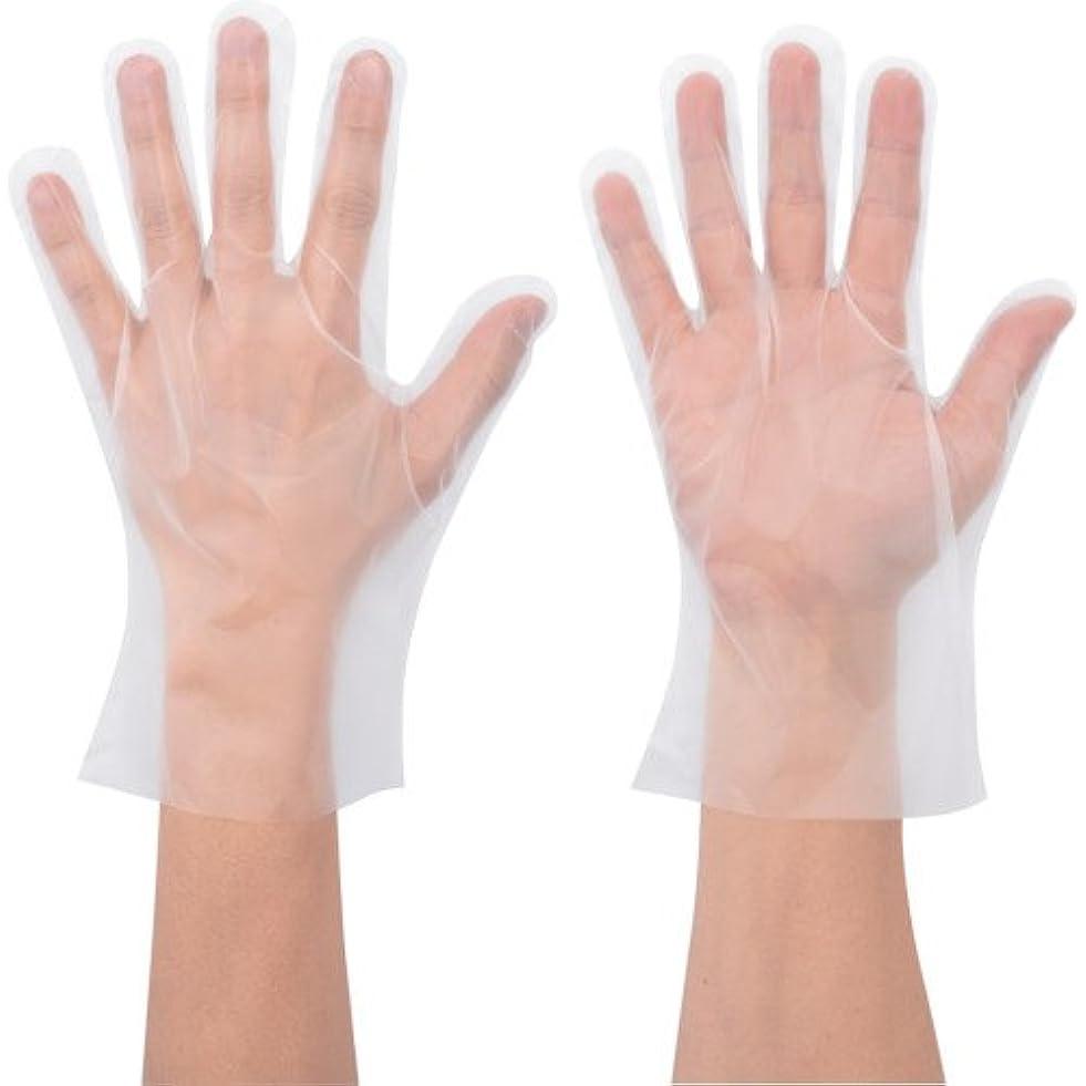 相互スティック位置づけるショーワ No.826 ポリエチ手袋 Mサイズ 100枚入