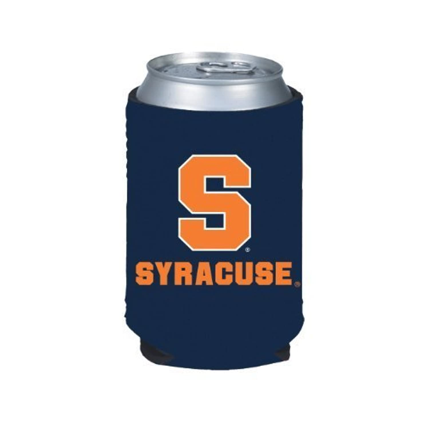 むしろ暖かさ醸造所SYRACUSE ORANGE NCAA CAN KADDY KOOZIE COOZIE COOLER