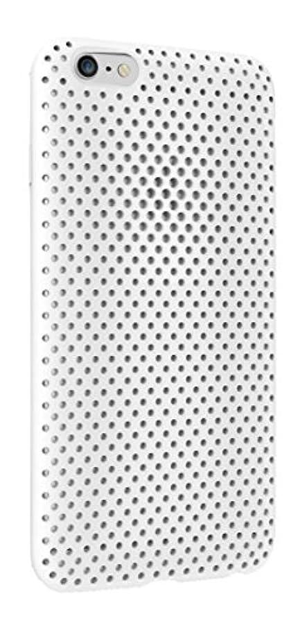 宴会前件会話型AndMesh iPhone 6 ケース メッシュケース ホワイト AMMSC600-WHT