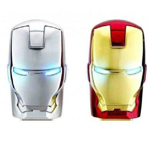 2個金銀セット MARVEL Avengers アイアンマン 8GB USB2.0 B フラッシュメモリ