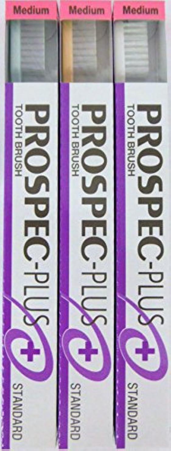 認めるフローメールGC プロスペック 歯ブラシプラス スタンダード M (3本セット)