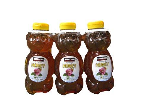 RoomClip商品情報 - KIRKLAND (カークランド)シグネチャーハニー ベアー はちみつ 680g 3本KS Honey 1LB 8oz Three Honey set