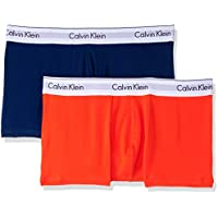 Calvin Klein Men's Underwear Modern Cotton Stretch Trunks (2 Pack)