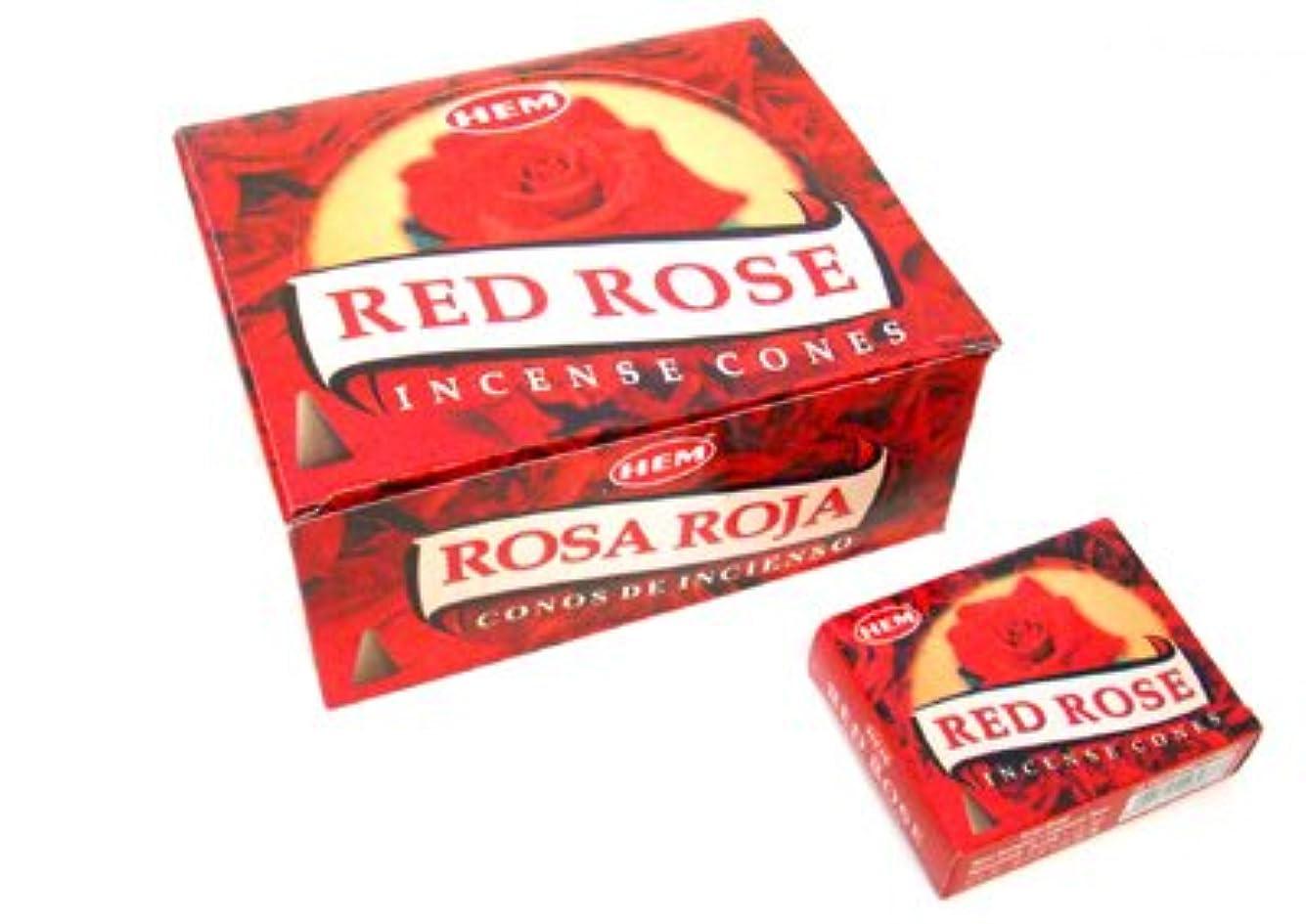 文句を言う進む盟主HEM(ヘム) レッドローズ香 コーンタイプ REDROSE CORN 12箱セット