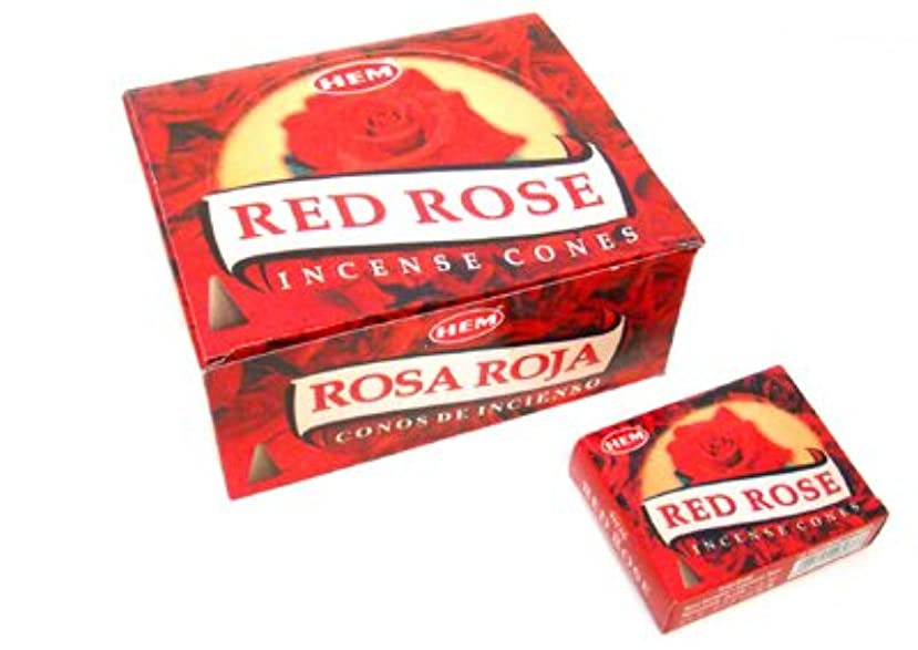 アクチュエータカセット排気HEM(ヘム) レッドローズ香 コーンタイプ REDROSE CORN 12箱セット