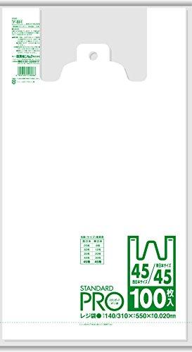 日本サニパック レジ袋  NO.45 100枚