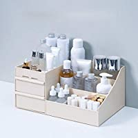 Beautiful and Practical Makeup Organizer Large Capacity Cosmetic Storage Box Drawer Makeup Organizer Dressing Table Skin Care Rack House Container Mobile Phone Sundries,C,S
