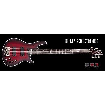 SCHECTER HELLRAISER EXTREME 5 【AD-HR-EX-BASS-5】 5弦エレキベース DIAMOND SERIES シェクター