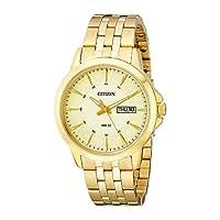 時計 Citizen シチズン Men's BF2013-56P Gold-Tone Stainless Steel Bracelet Watch メンズ 男性用 [並行輸入品]