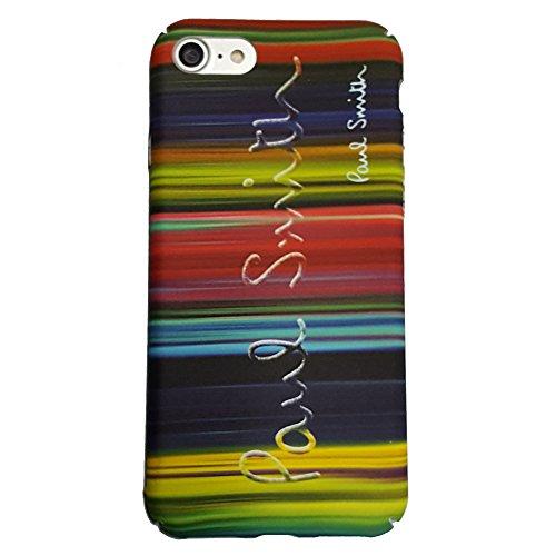 Paul Smith ポール・スミス iPhone 7 4.7インチ ハードケース アイフォン 専用 ケース ハードカバー ロゴ LOGO:虹柄 (iphone7, 虹)