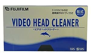 VHS/SVHSビデオデッキ用乾式ヘッドクリーナー