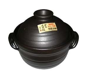 ごはん鍋 大黒セリオン(中蓋付)4合炊