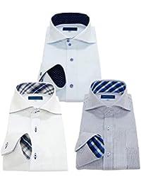men's uno(メンズウーノ) 長袖ワイシャツ3枚セット 形態安定