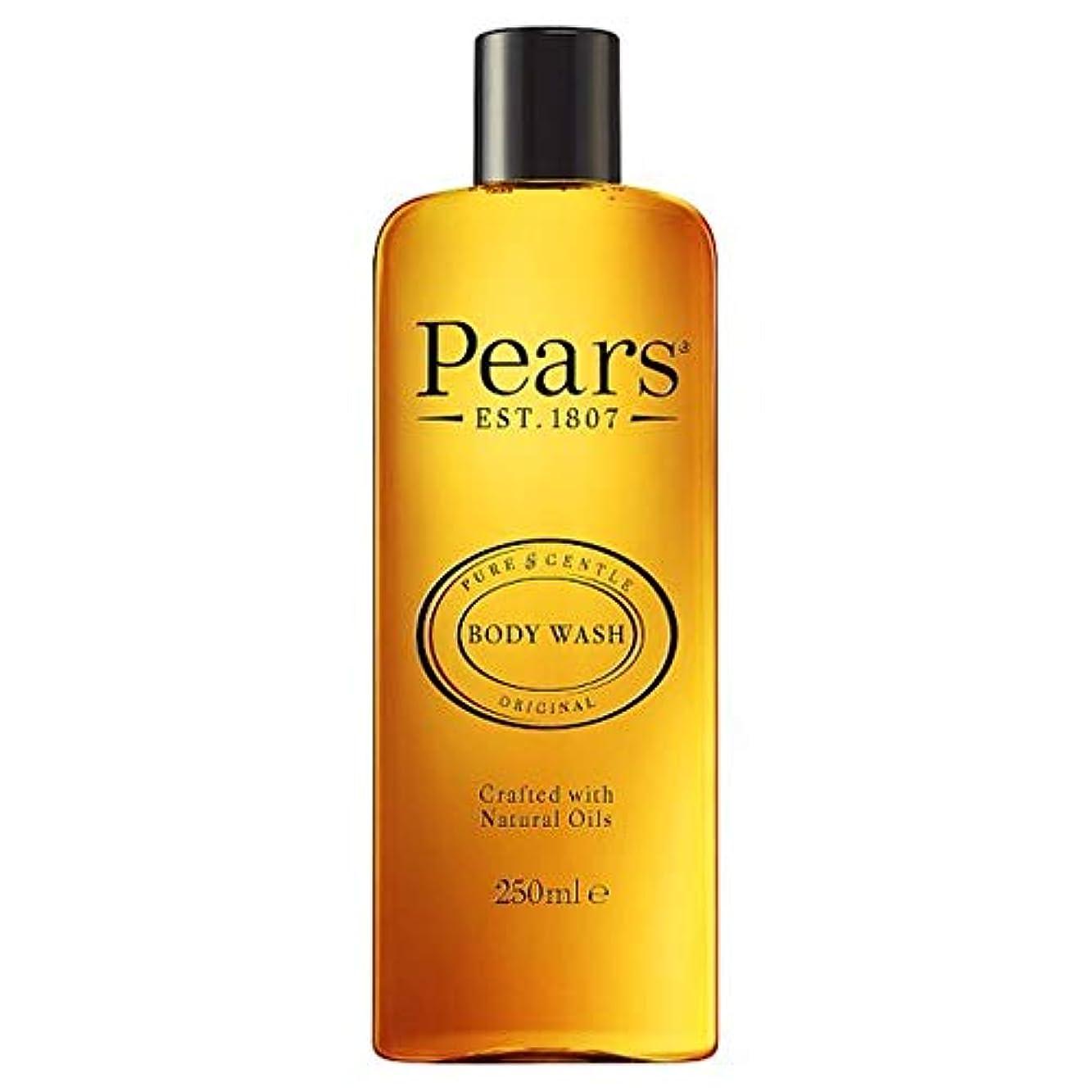 人口後方に静かな[Pears] 梨シャワージェル250ミリリットル - Pears Shower Gel 250Ml [並行輸入品]