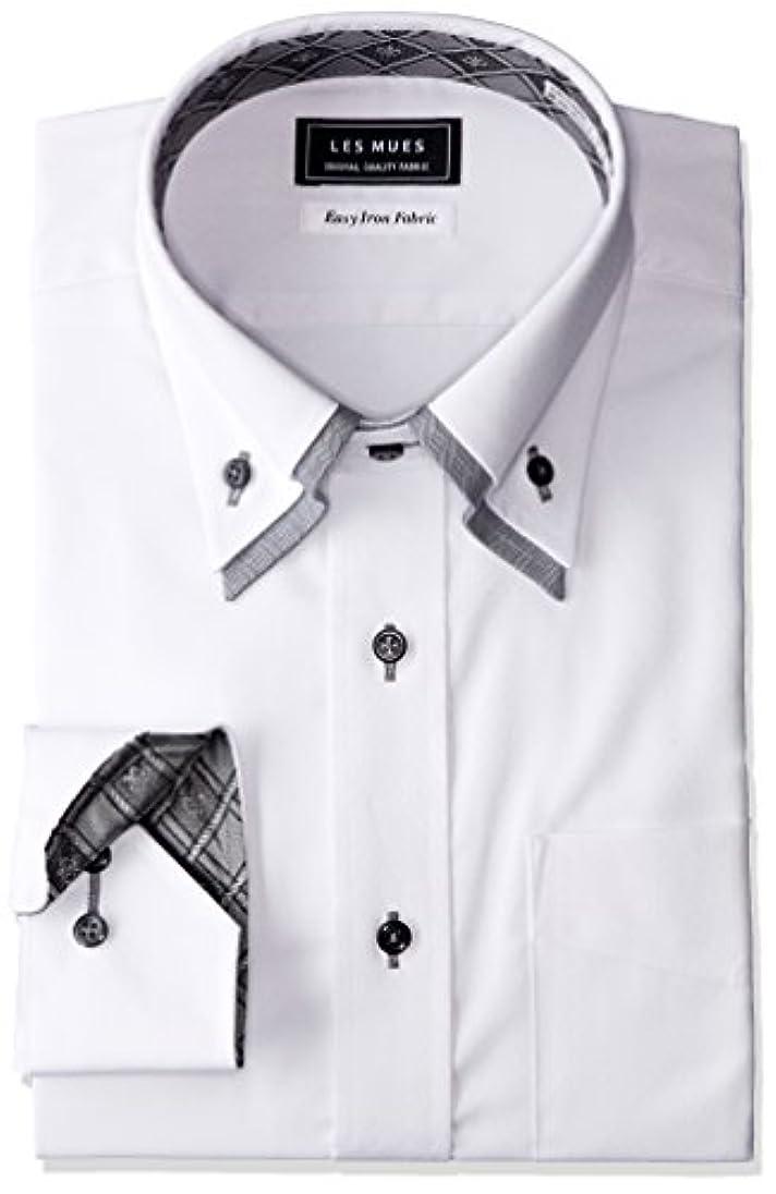 祭司トランクライブラリ結核[アオキ] 二枚衿シャツ メンズ KIR73005-1