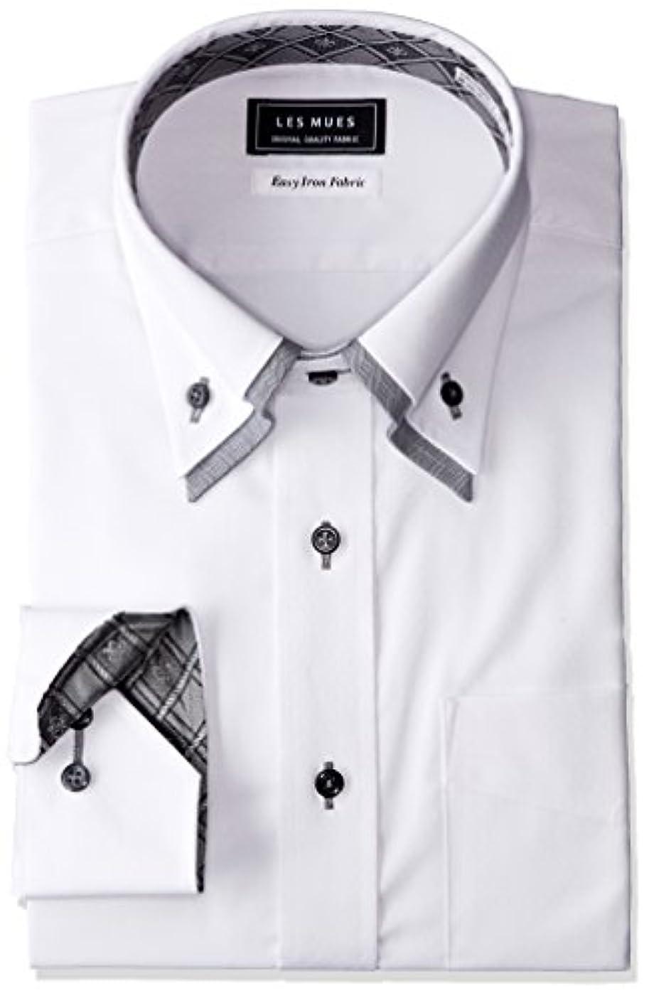 スクラップ以降ファン[アオキ] 二枚衿シャツ メンズ KIR73005-1