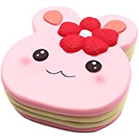 beautymei Kawaiiウサギ形状ケーキSlow Rising Squishes Toys