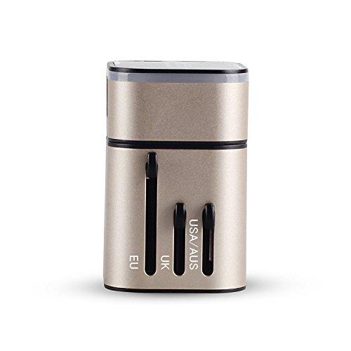 MOCREO®安全旅行充電器ユニバーサルワールドワイドオール...