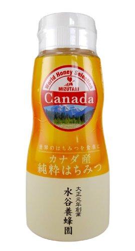 水谷養蜂園 カナダ産はちみつ 210g
