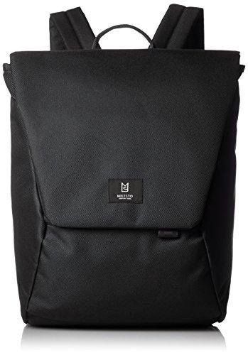 [ミレスト] バックパック Hutte キャリーオン 立体縫製 テフロン加工 コーデュラ MLS465-WH BK ブラック