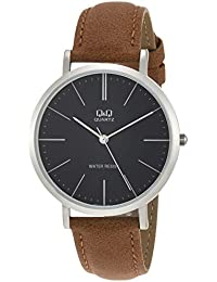 [シチズン Q&Q] 腕時計 アナログ Q978J312 メンズ ブラウン