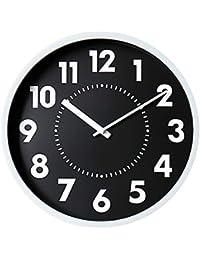 ClockLuck 電波掛け時計 Boris ボリス ブラック LW-002BK