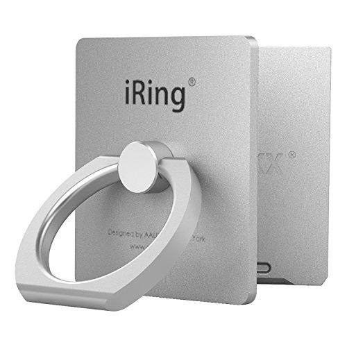 AAUXX(オークス) スマホ リング シルバー 4×3.6×6cm iRing Link 【正規輸入品】 UMS-IR09ILSL