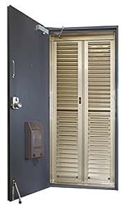 マンション用 ステンカラー 玄関網戸EC-18B