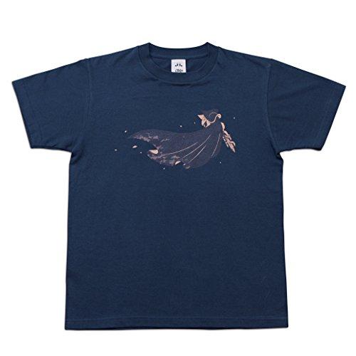 【Amazon.co.jp限定】星のカービィTシャツ ナイトブルー(メタナイト) Lサイズ