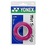 YONEX(ヨネックス) テニス アクセサリー ウエットスーパーグリップ 3本入り ピンク AC102 026