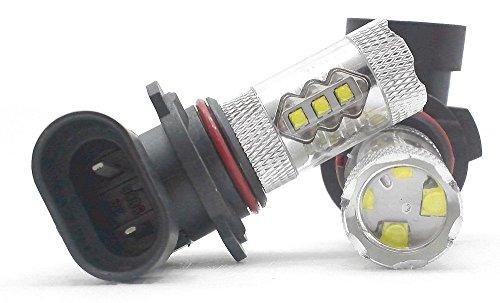 HB4 (9006) 80W CREE LED フォグランプ ホワイト 2個セット 6000K 白 DC12V アイシス アベンシス アリオン アリスト アルテッツァ アルファード アレックス イスト イプサム Will VS ウィッシュ ヴィッツ ウィンダム ヴェルファイア ヴェロッサ ヴォクシー エスティマ MR-S オーパ カルディナ カローラ スパシオ ランクス クラウン マジェスタ グランビア グランドハイエース クルーガー サクシード シエンタ スパーキー セルシオ センチュリー ノア チェイサー ハイエース ハイラックスサーフ パッソ ハリアー Bb プリウス ブレビス プログレ プロボックス ポルテ マークⅡ マークX ランドクルーザー プラド レジアスエース レクサス GS IS LS ウイングロード キューブ グロリア シーマ スカイライン ムラーノ パジェロ ランサーエボリューション RX-8 アクセラ CX-7 インプレッサ エクシーガ フォレスター レガシィ コペン up! LHB4-XBD16-PNPW illumicraft