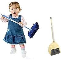 Sunworld スイープセット  知育玩具 おもちゃ おままごと ワイパー モップ 箒 ブラシ 清掃用具 おもちゃ クリーニングツール 男女共用