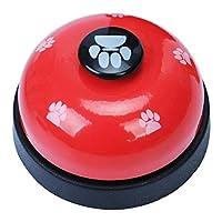 コールベル 呼び鈴 猫 犬 呼び鈴 カウンターベル 受付 店舗 トレーニングベル 猫のおもちゃ 呼び鈴 ベル  訓練ベル しつけ用 訓練用品 犬猫兼用 6色選べる