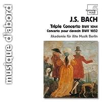 TRIPLE CONCERTO BWV 1052