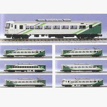 Nゲージ A4168 国鉄185系試案塗装イエローグリーン編成7両