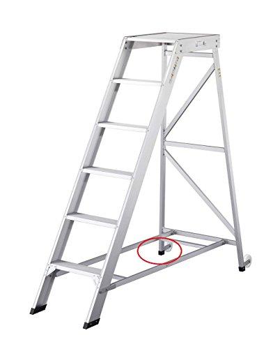 長谷川工業 DA 部品 (作業台DAシリーズ用)後支柱滑り止め脚端具(タラップ端具) L1個入