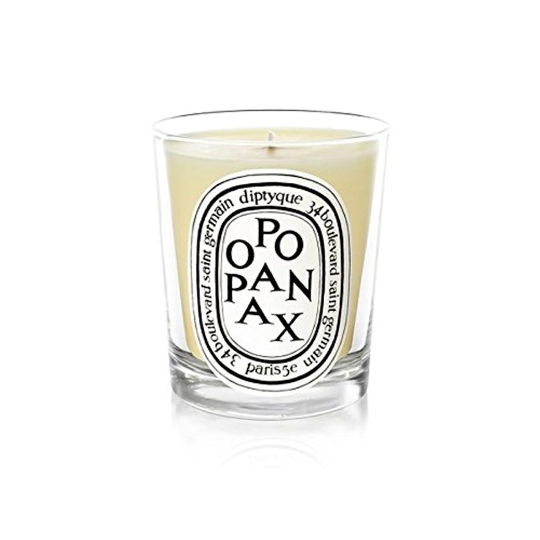 想起摩擦羨望Diptyque Candle Opopanax / Opopanax 190g (Pack of 2) - Diptyqueキャンドルオポパナクス/オポパナクス190グラム (x2) [並行輸入品]