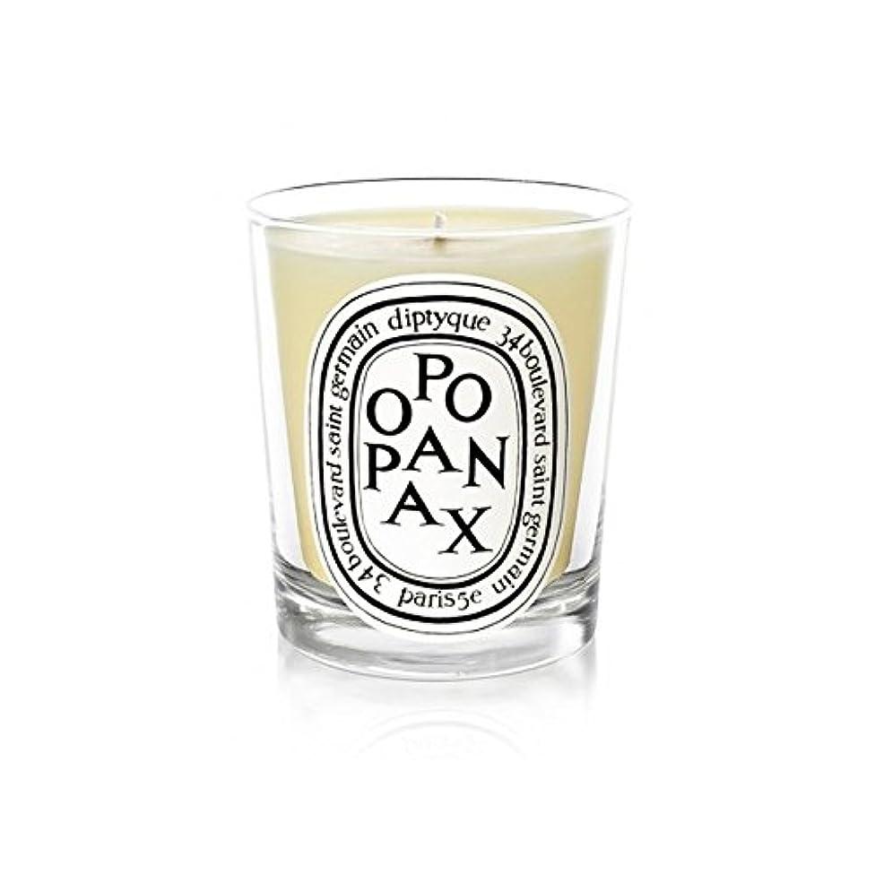 シンプルなグリット安息Diptyqueキャンドルオポパナクス/オポパナクス190グラム - Diptyque Candle Opopanax / Opopanax 190g (Diptyque) [並行輸入品]