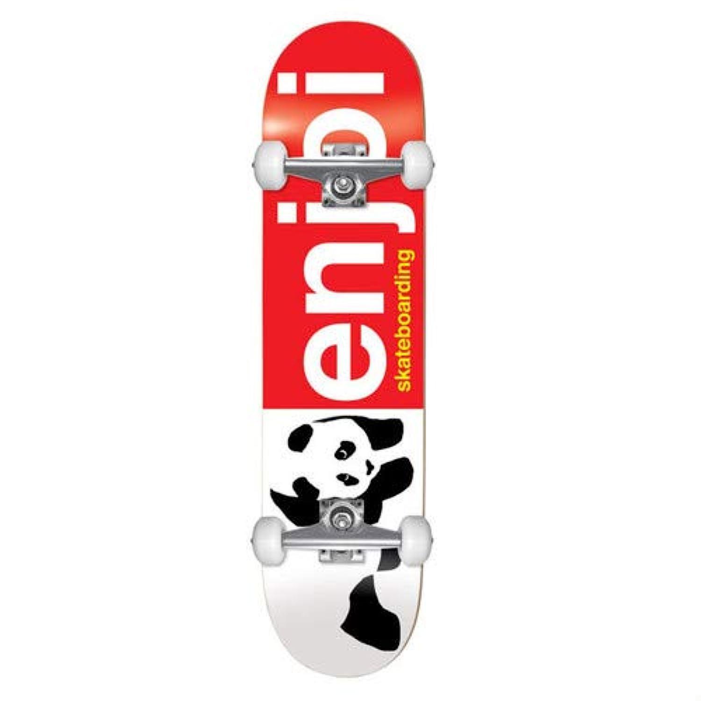 スケートボード コンプリート ENJOI KIDS COMPLETE HALF AND HALF RED 7.0 子供用