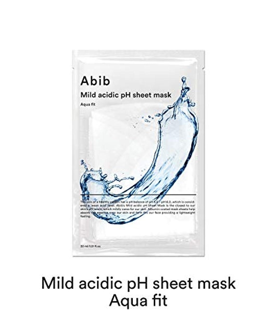 アクセスできないアンカー夜間[Abib] アビブ弱酸性pHシートマスクアクアフィット 30mlx10枚 / ABIB MILD ACIDIC pH SHEET MASK AQUA FIT 30mlx10EA [並行輸入品]