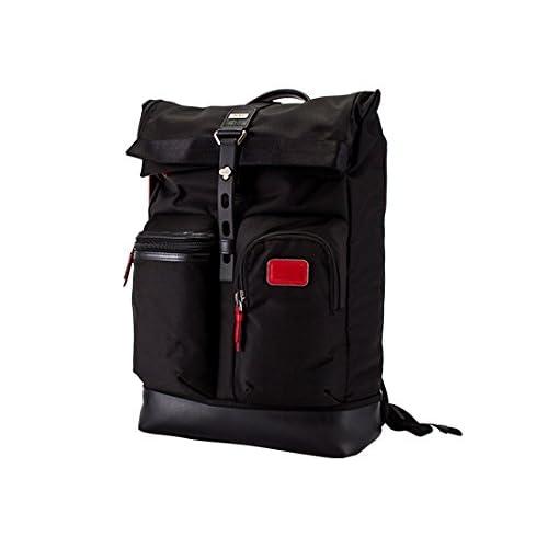 トゥミ Tumi ルーク ロールトップ バックパック 222388DR2E ブラック Exclusives Luke Roll-Top Backpack Black ビジネスバッグ バリスティックナイロン [並行輸入品]