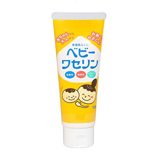 【保湿クリーム】ベビーワセリン 100g(乾燥肌 パラベンフリー)