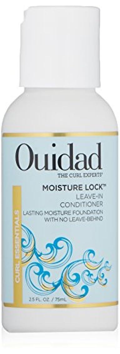 和らげる粘土ボットOUIDAD MOSITURE LOCK LEAVIN-IN-CONDITIONER 2.5 OZ by Ouidad by Ouidad