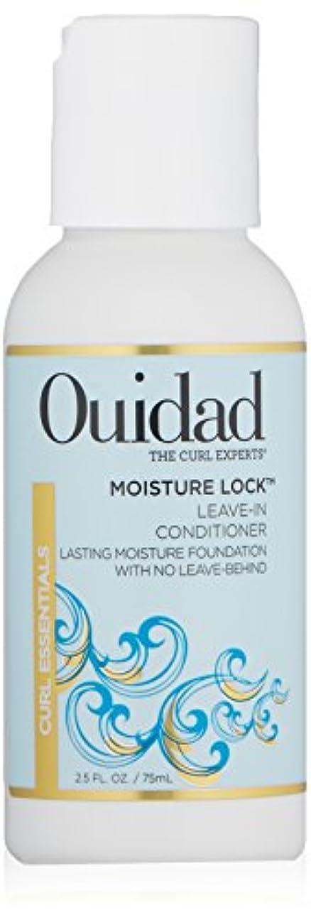 意義息苦しい巨大OUIDAD MOSITURE LOCK LEAVIN-IN-CONDITIONER 2.5 OZ by Ouidad by Ouidad