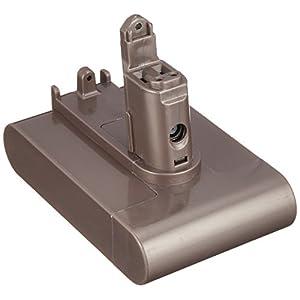 互換バッテリー ダイソン dyson 1個 【DC442】 22.2V 2.0Ah リチウムイオン電池 ネジ式タイプ CE PSE 2000mAh 工具 互換 バッテリー 電池 交換 家電 掃除機 DC442