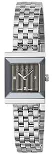 [グッチ]GUCCI 腕時計 Gフレーム ブラック文字盤 YA128403 レディース 【並行輸入品】