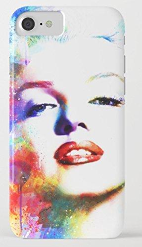 マリリン・モンロー iPhone 8/8plus Xケース society6 [並行輸入品] (iPhone X, marilyn03)