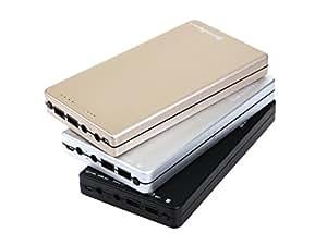 【正規品】SimPretty_HighClass ノートPC充電可 超大容量 モバイルバッテリー 45000mAh HP MSI Lenovo Acer ASUS Chromebook Let's note レッツノート toshiba Dynabook NEC / iPhone 6 6Plus 5 5S 5C 4 4S / iPad mini air / Xperia Galaxy Nexus Xiaomi等 各社ノートパソコン・スマホ 対応 3台同時充電可 高速充電:超高速蓄電対応 tb200002a01 シルバー